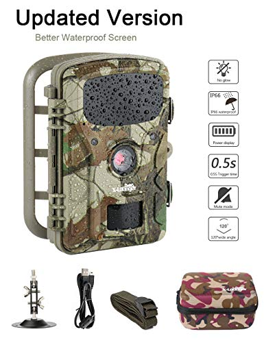 Game Trail Camera 1080P 12MP with Sound Scouting Camera