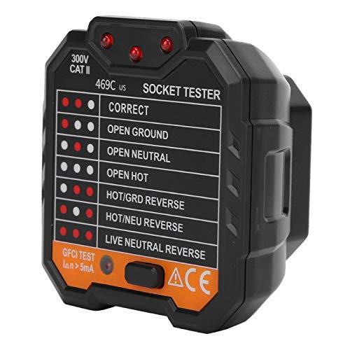 Tester elettrico Rilevatore presa di corrente Rilevatore di interruzioni di corrente Fabbriche di reti elettriche per le case(European regulations)