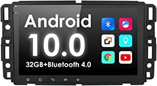 Android 10 OS 8 inch Touchscreen Car DVD Player Car Navigation GPS FM/AM Radio Receiver Bluetooth Stereo for GMC Chevrolet Buick Silverado Sierra Come with RAM 2G ROM 32G