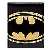 DC Comics Batman Simbolo oro lucido Nero portafoglio