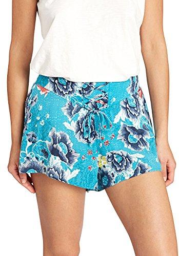 BILLABONG Damen Sunny Eyes Shorts Walkshorts, Costa Blue, M