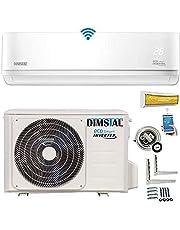 INVERTER A++/A++ split airconditioning Eco Smart WLAN / WiFi complete set incl. 3m koperen leidingen & verwarmingsfunctie [energieklasse A++]
