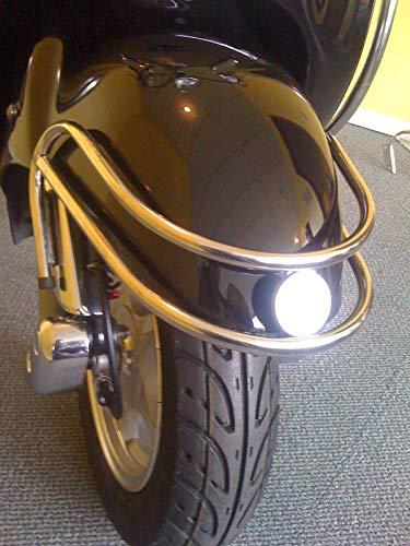 Roller Sturzbügel Vorderrad Schutzbügel Retroroller Motorroller Scooter ZNEN