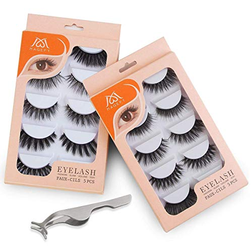 Magefy Reusable 3D Handmade False Eyelashes