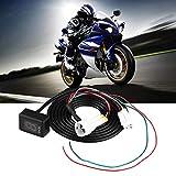 Plug /& play Para Honda CB500F X CBR300R CBR500R CBR600RR CBR250R CBR1000RR X CB1000R NC700S X NC750S GUAIMI Indicador de marcha de la motocicleta impermeable Pantalla LED Verde
