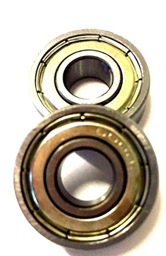 Pair Of 6000Z Bearings 6000-Z 33Cc Gas Scooter Zooma Ty Rod G Kragen Pep Boys