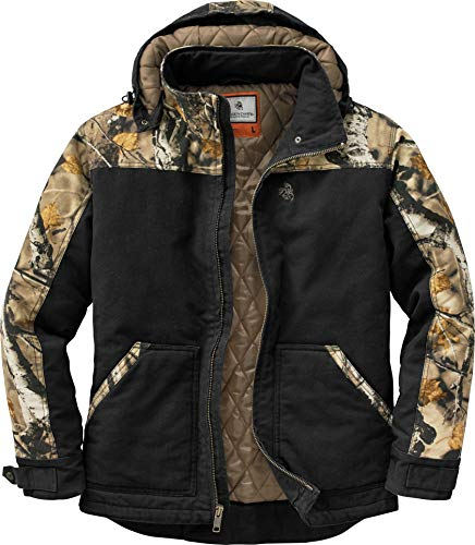 Legendary Whitetails Canvas Cross Trail Workwear Jacket Black Medium