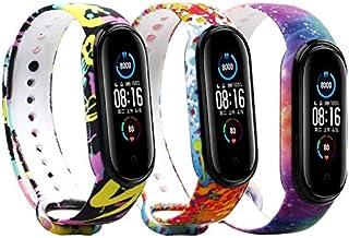 Baaletc Bands for Xiaomi Mi Band 5 Strap/Amazfit Band 5 Strap Replacement Wristband Xiaomi Mi Band 5 Accessories Watch Ban...