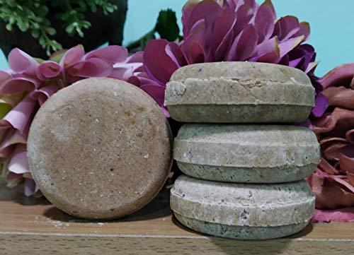 Champú sólido Shikakai ayurvédico - SIN SULFATOS - (50 gr)