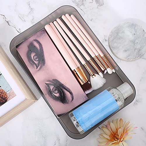 Boîte de rangement pour ongles, support pour organisateur de maquillage, pratique pour un usage quotidien pour un salon de beauté pour un salon de manucure(le noir)