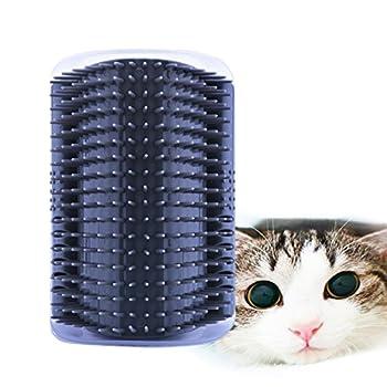Jiele Chaton massant à chat grattoir pour animal domestique Self cheveux Brosse
