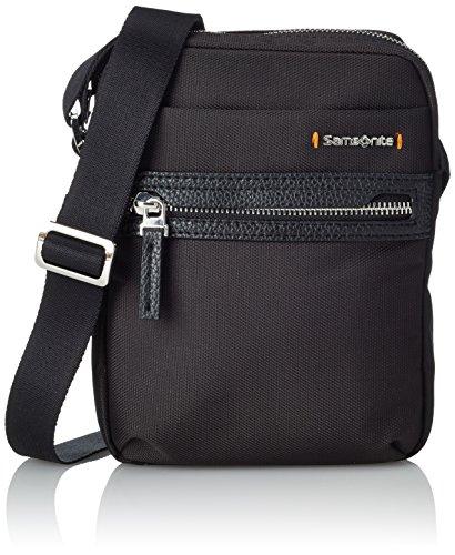 Samsonite Hip-Class Crossover Bolso Bandolera, 2 Litros, Color Negro