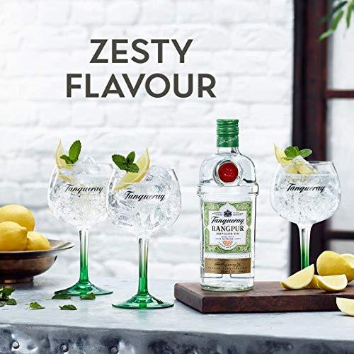 Tanqueray Rangpur Lime Distilled Gin – Ideale Spirituose für Cocktails oder Gin Tonic – 1 x 1L - 4