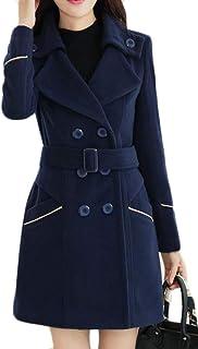 d4aa79c5bd9 Amazon.com  Blues - Wool   Blends   Wool   Pea Coats  Clothing ...