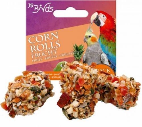 JR-Farm Bird Corn Rolls Fruit Lot de 3 rouleaux de papier à rouler Taille 1