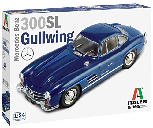 ITALERI 3645S - 1:24 Mercedes Benz 300 SL Gull Wing, Modellbau, Bausatz, Standmodellbau, Basteln, Hobby, Kleben, Plastikbausatz