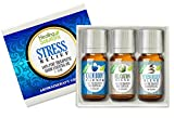 Stress Relief Blend Set 100% Pure, Best Therapeutic Grade Essential Oil Kit - 3/10mL (Calm Body/Calm...