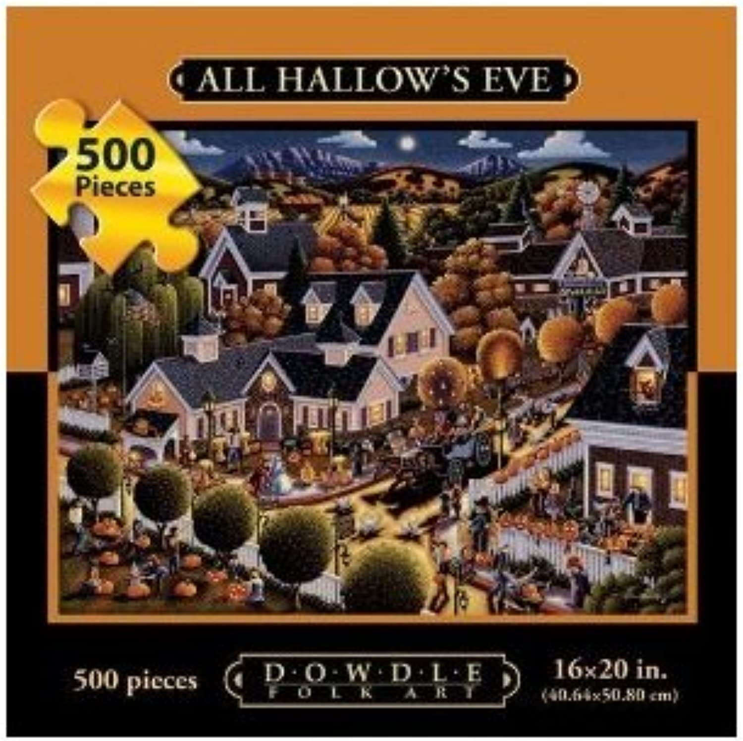 Allposters Us All Hallow's Eve 500Pc 16X20 Jigsaw Puzzle By Eric Dowdle
