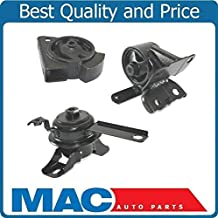 100% New Engine & Manual Transmission Mounts Fits Chevrolet Geo Prizm & Toyota Corolla 1.8L 1998-2002