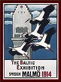 Herbé TM Baltic Exhibition Malmö Poster / Kunstdruck, 40