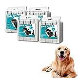 Pañales para mascotas para perros machos, súper absorbentes Suaves perreras para perros Desechables para perros masculinos Pantalones sanitarios con transpirable para perros Incontinencia urinaria