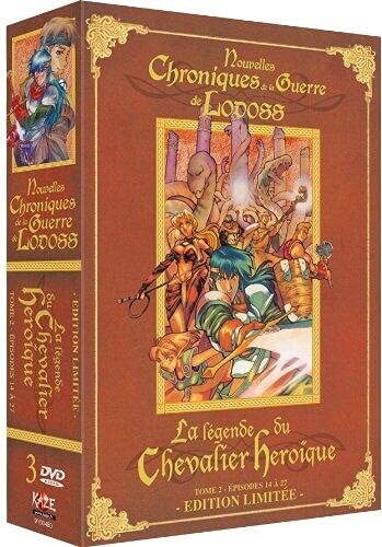 Nouvelles chroniques de la Guerre de Lodoss-La légende du Chevalier Héroïque-Tome 2 [Édition Limitée]