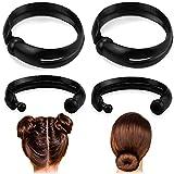 QMSILR 2 set of 4 Bun Hair Braiding Tool, Magic Hair...