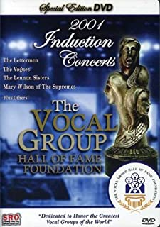 The Vocal Group Hall of Fame 2001 Induction Concerts