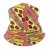 Nicht zutreffend Cute Feed Me Love Pizza-Fleece-Nackenwärmer, wärmeableitend, Sonnenschutz, weich, elastisch, Balacla Halbmaske, Sichtschutz, Winddicht, Ski-Hals-Gamasche, Überzug für Winter-Skifahren