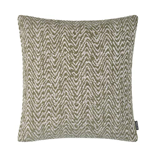 Proflax Marella Cushion Cover with Wave Structure 50 x 50 cm Olive