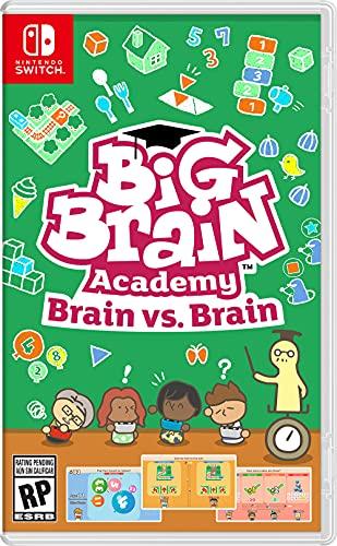 5185uZjDy2L. SL500  - Big Brain Academy: Brain vs. Brain - Nintendo Switch