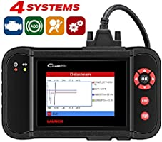 Launch X431 Creader VII+ (CRP123) Auto Code Reader EOBD OBD2 Scanner Scan Tool Testing Engine/Transmission/ABS/Airbag...