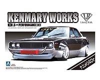 リバティーウォーク ワークス ケンメリ4Dr 124 プラモデル アオシマ