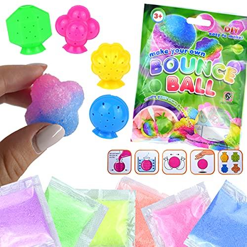 Henbrandt the Harlequin Brand Flummi Selber Machen Set Springball Hüpfball Dopsball Experimentierset Kinder Mitgebsel