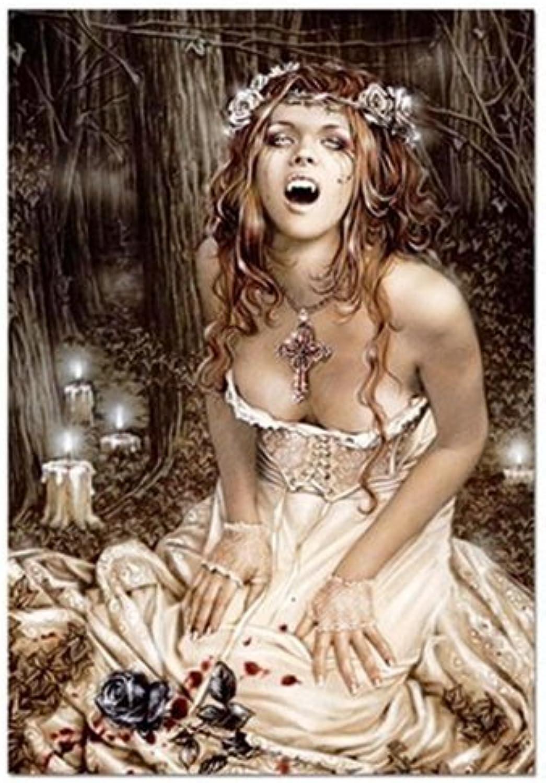 Educa Set Me Free (Vampire Girl), V. Frances (1500 pc puzzle)