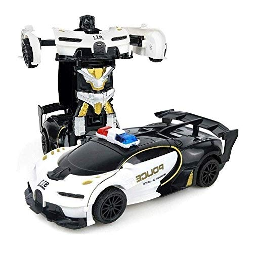 Amazing Deal Woote Electric RC Cars Children's Birthday Gifts 1/22 Scale Collision Deformation Defor...