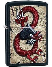 Zippo Lighter - DRAGON ACE DESIGN Design shaped
