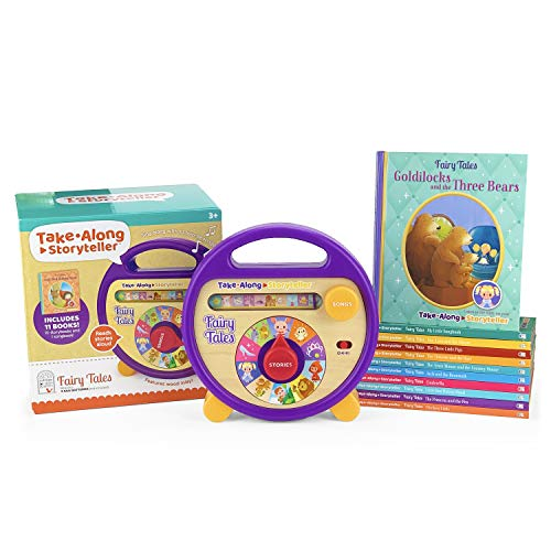 Compare Textbook Prices for Fairy Tales Take Along Storyteller: Interactive Electronic Music Player/Reader with 11 follow-along books Children's Interactive Story and Song Carry Along Player With Books  ISBN 9781646380855 by Cottage Door Press,Cottage Door Press