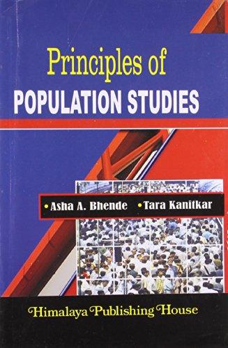 Principles Of Population Studies