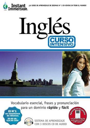 Instant Immersion Ingles Curso Intensivo/Instant Immersion English Crash Course (Aprendiazaje De Idiomas) (English and Spanish Edition)