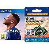 FIFA 22 [Playstation 4] + FIFA 22 Ultimate Team - 2200 FIFA Points | Codice download per PS4/PS5 - Account italiano