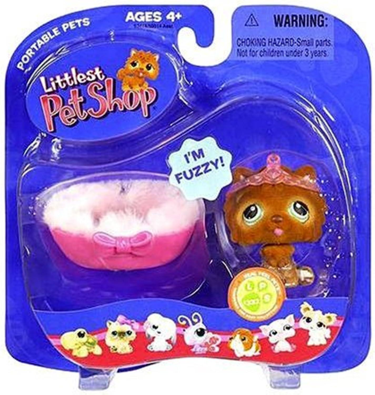 Littlest Pet Shop - Portable Pets - Körbchen-Set mit Hund LPS 332 - OVP B000UUHX96 Neuheit Spielzeug       Sale Online