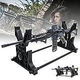 BaiHQF Bastidores de Armas, Soporte de Pared para Pistola, Almacenamiento Y Exhibición para Rifle, Escopeta, Airsoft