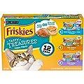 Purina Friskies Tasty Treasures Prime Filet Cat Food Variety Pack - (12) 5.5 oz. Cans (packaging may vary)