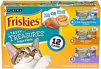 Purina Friskies Tasty Treasures Adult Wet Variety Pack Cat Food