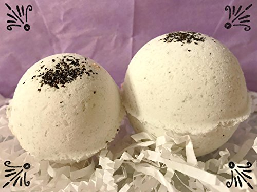 Sandalwood and Earl Grey bath bomb - bath bombs - vegan -cruelty free- all natural - gifts for her - gifts for him - stocking stuffers