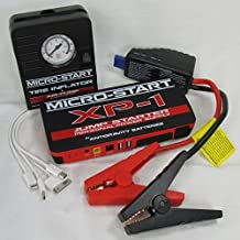 Emergency Road Side Auto Kit- Antigravity Batteries MICRO START XP-1 Battery Jump Starter, Charger - Back Up Power Supply w/Mini Mobile Tire Inflator Charges Phone Laptop FULL ANTIGRAVITY WARRANTY