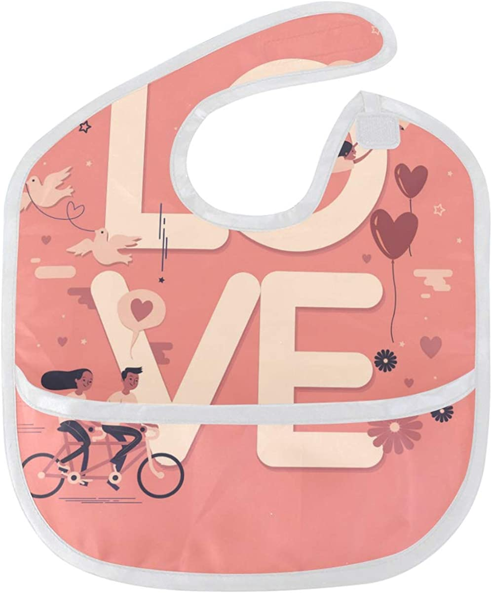Love World Baby Bibs Waterproof Stain Cheap Cheap sale mail order shopping Odor Resist and Washable