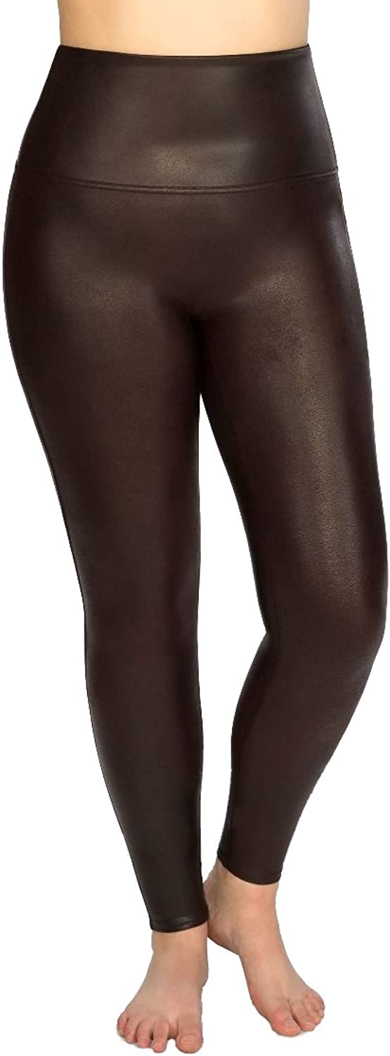Plus Size ReadytoWow Faux Leather Leggings