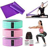 QDH 3+1 Pack Exercise Resistance Bands for Women